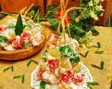Cenil Singkong Pelangi langkah memasak 7 foto