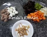 Sup Kimlo Bakso Telur Puyuh langkah memasak 1 foto