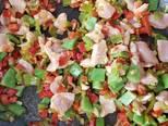 Foto del paso 2 de la receta Arroz especiado con pollo y verduras
