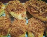 Roti Abon keju a.k.a beef floss bun cheese langkah memasak 15 foto