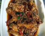 Sayap Ayam Lada Hitam langkah memasak 3 foto