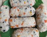 Corn Dog Nasi Sosis langkah memasak 5 foto
