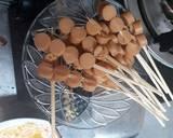 Papeda telur gulung langkah memasak 3 foto