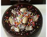 BrowKat GlasCup #BrowniesAlpukat langkah memasak 10 foto