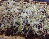Sig's leeky pizza recipe step 3 photo
