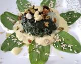Spinach Oats Halwa recipe step 3 photo
