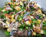 Oseng Klothok & Terong langkah memasak 2 foto