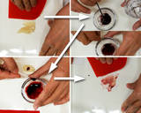 "Nerikiri Wagashi: ""Tsubaki"" (Camellia) recipe step 5 photo"