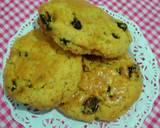 Raisin american scone langkah memasak 6 foto
