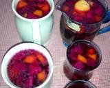 Es Buah Naga n Kedondong n Pepaya jg Selasih... Simpel tnp Syrup langkah memasak 5 foto