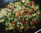 Tumis Kacang Panjang, Tauge, dan Jamur Kuping langkah memasak 4 foto