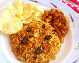 Nasi Kebuli Ayam Rice Cooker langkah memasak 8 foto