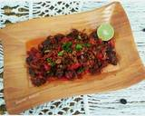 Dendeng Balado Basah langkah memasak 6 foto