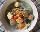 Shabu Shabu Sayuran langkah memasak 6 foto