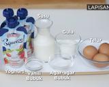 Puding Busa Yoghurt langkah memasak 3 foto