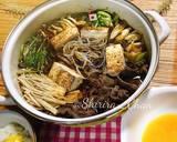 Japanese Sukiyaki langkah memasak 5 foto