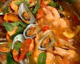 Mussels in Chilli and Tomato Sauce langkah memasak 5 foto
