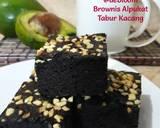 257. Brownies Alpukat Tabur Kacang langkah memasak 14 foto