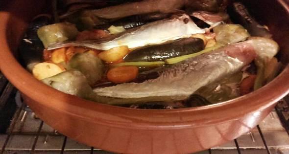 26 Cazuela De Jureles Al Horno Con Alcachofas Y Berenjenas