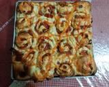 Pizza Roll Killer Soft Bread langkah memasak 5 foto