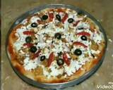 Sweet and sour chicken pizza recipe step 9 photo