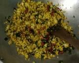 Nasi goreng daun mengkudu ikan asin peda langkah memasak 3 foto