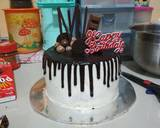 Simple Drip Cake langkah memasak 12 foto