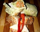 Siomay Tahu Isi Ayam Saos Almond (Menu Eat Clean ) langkah memasak 3 foto