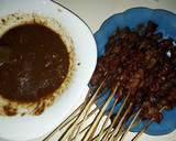 Sate kambing bumka (bumbu kacang) #FestivalResepAsia#Indonesia langkah memasak 5 foto
