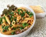 Mix Egg-Seafood Penne Pasta langkah memasak 9 foto