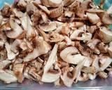 Tumis Jamur Kancing & Daging Ayam langkah memasak 1 foto