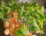 Mie Goreng Kangkung Belacan langkah memasak 3 foto