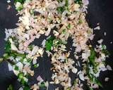 Garlic poha recipe step 1 photo