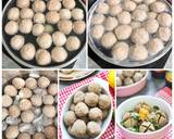 Bakso Sapi langkah memasak 6 foto