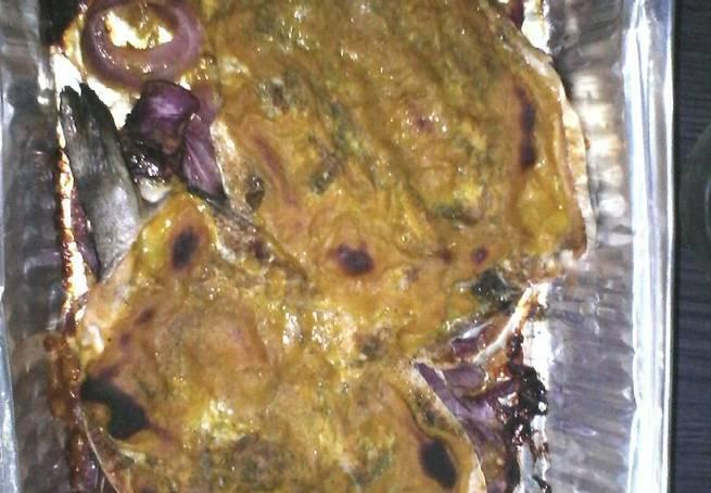 5 Trucha Al Horno Con Salsa De Mostaza Dulce