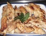 Foto del paso 2 de la receta Pollo con salsa de champiñones ?