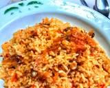 Nasi Goreng Teri (bumbu dasar merah) langkah memasak 3 foto