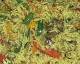 Simple fried rice recipe step 5 photo