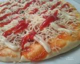 Pizza Sosis Lentur langkah memasak 11 foto