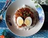156. Bolognese Bubur Nasi langkah memasak 5 foto
