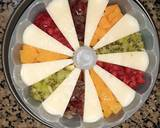Vanilla Fruit Pudding langkah memasak 2 foto