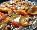 Semur daging sapi giling langkah memasak 3 foto