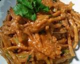 Mie Gomak Siram Bumbu Kacang / Mie Caluek langkah memasak 7 foto