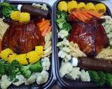 Ayam kodok langkah memasak 8 foto