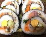 Japanese Big Sushi Roll recipe step 9 photo