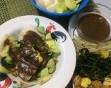Rujak cingur Suroboyo tanpa cingur (rujak Surabaya) #pr_uuenaktenanrek#adaapadengantimun langkah memasak 2 foto
