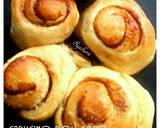 Capucino Roll Bread langkah memasak 10 foto