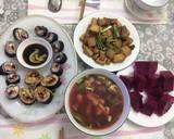 Sushi chay và sushi chiên bước làm 6 hình
