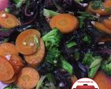 Capcay bayam merah sehat mudah#homemadebylita langkah memasak 6 foto