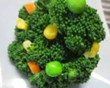 Broccoli Christmas Tree and Wreath recipe step 4 photo